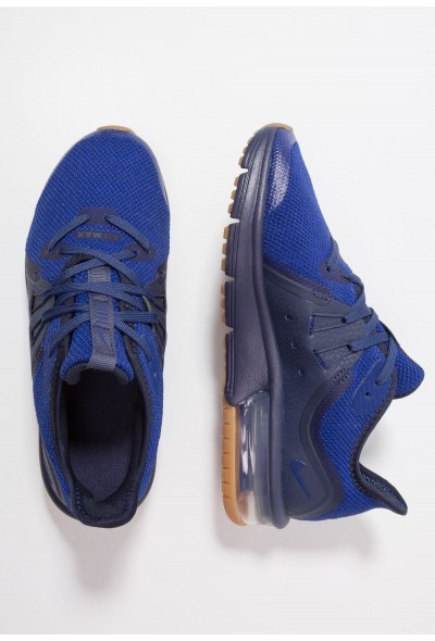 Nike AIR MAX SEQUENT 3 - Chaussures de running neutres obsidian/deep royal blue/neutral indigo liquidation