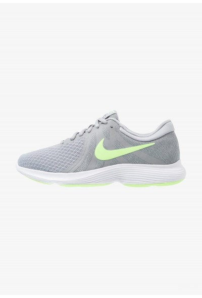 Nike REVOLUTION 4 EU - Chaussures de running neutres wolf grey/lime blast/cool grey/white liquidation