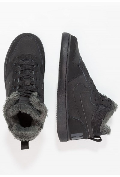 Nike COURT BOROUGH MID - Baskets montantes black/anthracite liquidation