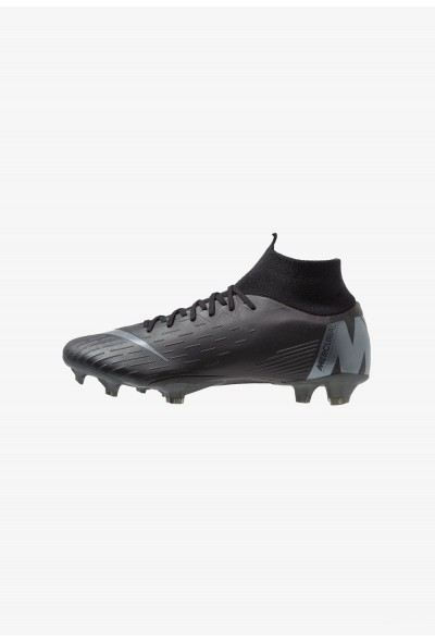 Nike MERCURIAL 6 PRO FG - Chaussures de foot à crampons black/anthracite/light crimson liquidation