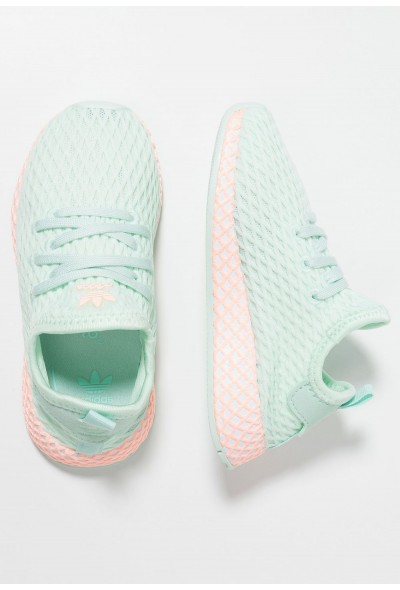 Cadeaux De Noël 2019 Adidas DEERUPT RUNNER - Baskets basses ice mint/footwear white/clear orange pas cher