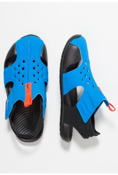 Black Friday 2019 | Nike SUNRAY PROTECT 2 - Sandales de bain photo blue/bright crimson/black liquidation
