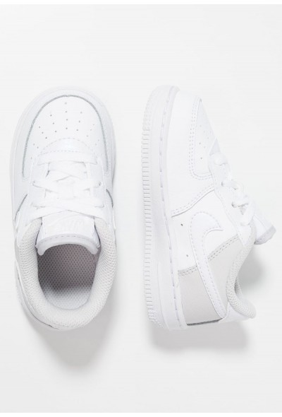Nike NIKE FORCE 1 (TD) - Baskets basses white/vast grey liquidation