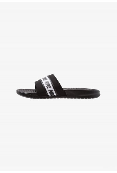 Black Friday 2020 | Nike BENASSI - Sandales de bain black/white liquidation