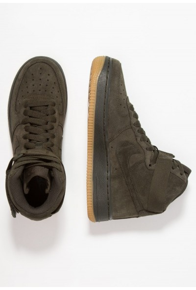 Nike AIR FORCE 1 LV8 - Baskets montantes sequoia/light brown liquidation