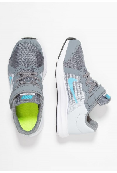 Nike DOWNSHIFTER 8 - Chaussures de running neutres cool grey/blue fury/pure platinum/white liquidation