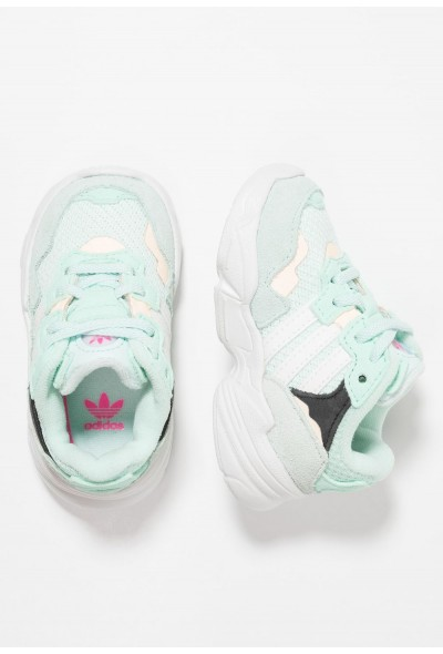 Adidas YUNG-96 EL - Mocassins ice mint/clowd white/clear orange pas cher