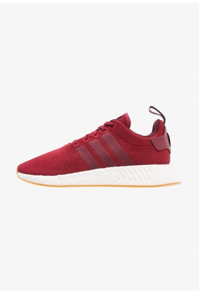 Adidas NMD_R2 - Baskets basses burgundy/maroon pas cher