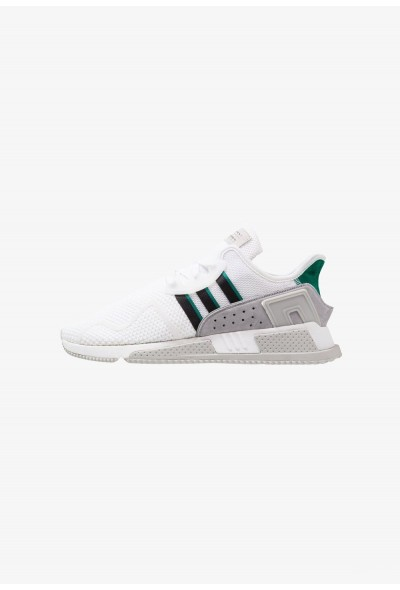 Adidas EQT CUSHION ADV - Baskets basses footwear white/core black/sub green pas cher