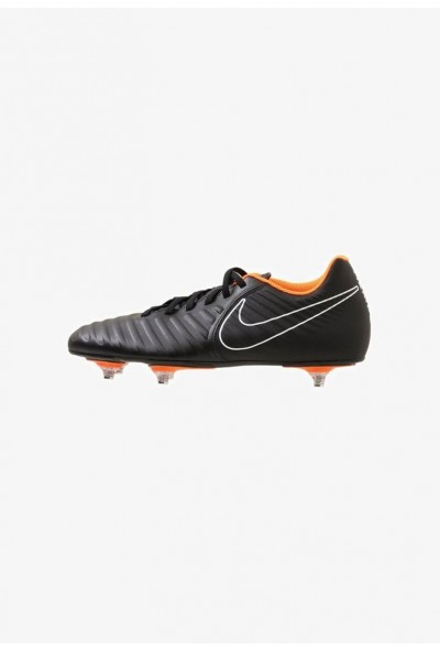 Nike TIEMPO LEGEND 7 CLUB SG - Chaussures de foot à lamelles black/total orange/black/white liquidation