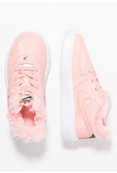 Black Friday 2020 | Nike FORCE 1 '18 VDAY - Mocassins bleached coral/black/white liquidation