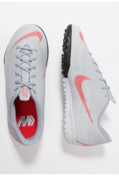 Nike MERCURIAL VAPORX  - Chaussures de foot multicrampons wolf grey/light crimson/pure platinum/metallic silver liquidation