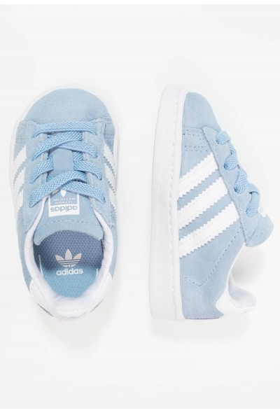 Adidas CAMPUS - Mocassins ash blue/footwear white pas cher