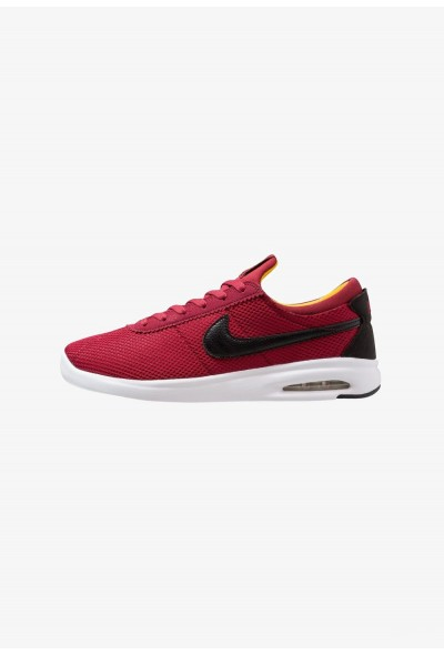 Nike AIR MAX BRUIN VPR TXT - Baskets basses red crush/black/white/yellow ochre liquidation