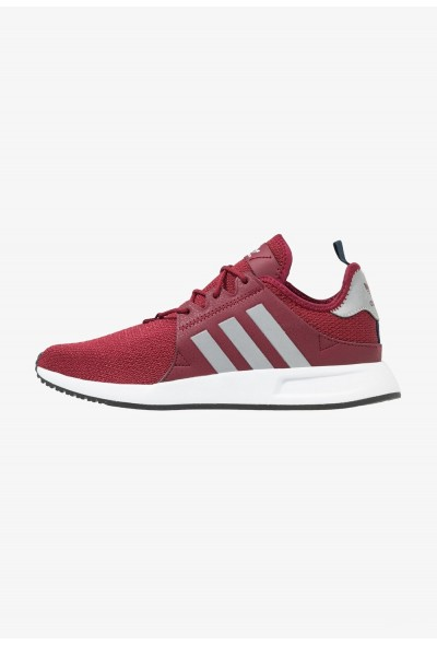 Adidas X_PLR - Baskets basses collegiate burgundy/silver metallic/collegiate green pas cher