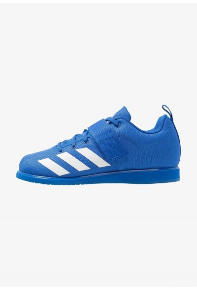 Black Friday 2020 | Adidas POWERLIFT 4 - Chaussures d'entraînement et de fitness blue/footwear white pas cher