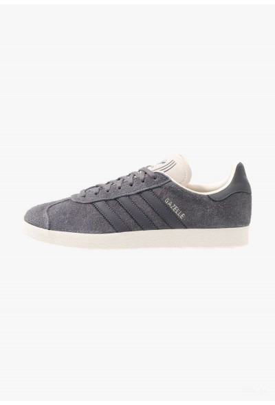 Adidas GAZELLE - Baskets basses grey five/white pas cher