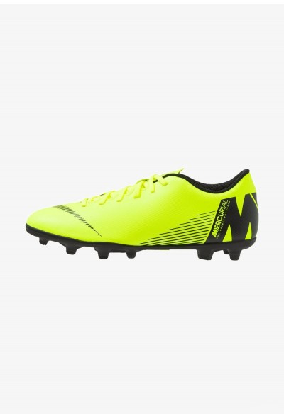 Black Friday 2020 | Nike MERCURIAL VAPOR 12 CLUB MG - Chaussures de foot à crampons volt/black liquidation