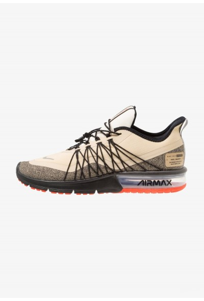 Black Friday 2019 | Nike AIR MAX SEQUENT 4 UTILITY - Chaussures de running neutres desert ore/reflect silver/black/pale ivory/parachute beige/team orange liquidation