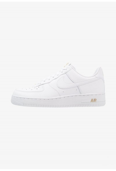Nike AIR FORCE - Baskets basses white/metallic gold liquidation