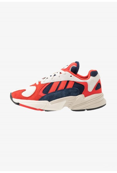 Adidas YUNG-1 - Baskets basses white/core black/collegiate navy pas cher