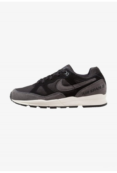Nike AIR SPAN II - Baskets basses black/anthracite/pale ivory liquidation