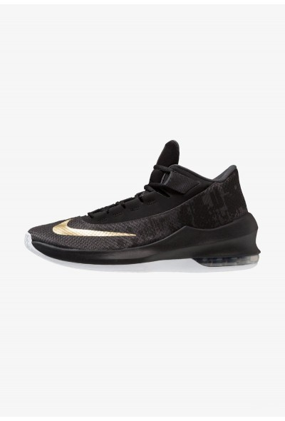 Cadeaux De Noël 2019 Nike AIR MAX INFURIATE 2 MID - Chaussures de basket anthracite/metallic gold/black/white liquidation