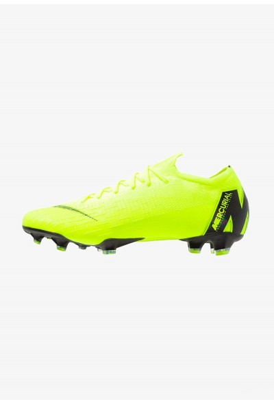 Nike MERCURIAL VAPOR 12 ELITE FG - Chaussures de foot à crampons neon yellow liquidation