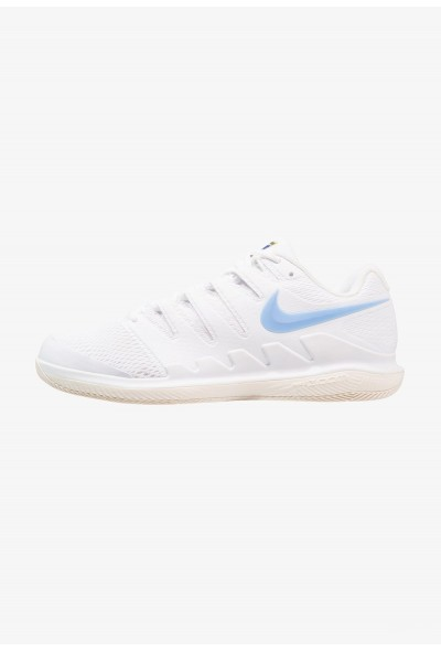 Nike AIR ZOOM VAPOR X HC - Baskets tout terrain white/university blue/light cream/metallic gold liquidation