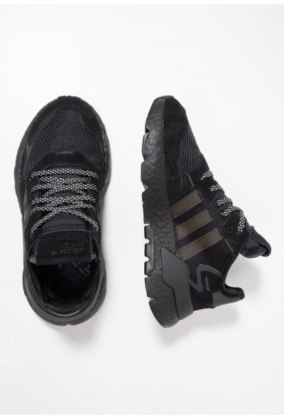 Black Friday 2020 | Adidas NITE JOGGER  - Baskets basses core black/carbon/grey five pas cher