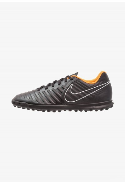 Nike TIEMPO LEGENDX 7 CLUB TF - Chaussures de foot multicrampons black/total orange/white liquidation