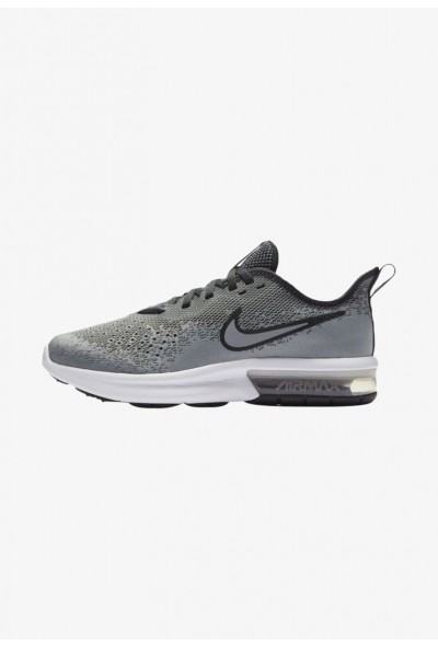 Nike AIR MAX SEQUENT 4 - Chaussures de running neutres wolf grey/anthracite/white liquidation