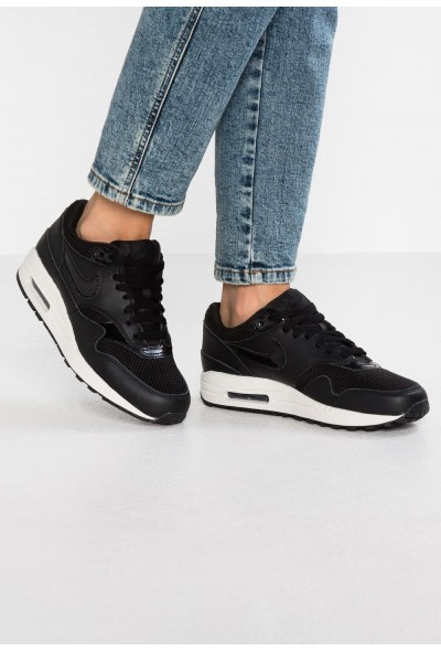 Nike AIR MAX 1 - Baskets basses black/summit white liquidation