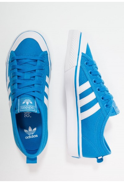 Adidas NIZZA  - Baskets basses blue/footwear white pas cher