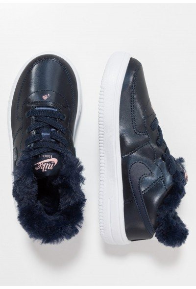 Black Friday 2020 | Nike FORCE 1 '18 VDAY - Mocassins obsidian/white/bleached coral liquidation