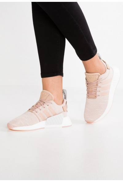 Adidas NMD_R2 - Baskets basses ash pearl/crystal white pas cher