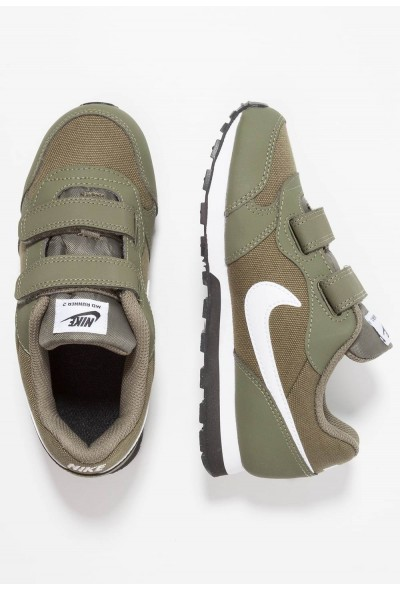 Nike MD RUNNER 2 - Baskets basses medium olive/white/black liquidation