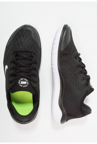 Nike FREE RN 2018 - Chaussures de course neutres black/white liquidation