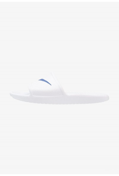 Nike KAWA SHOWER - Sandales de bain white/blue moon liquidation