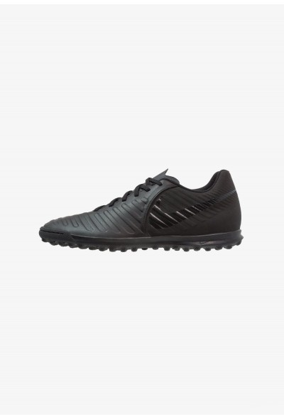 Nike TIEMPO LEGENDX 7 CLUB TF - Chaussures de foot multicrampons black/light crimson liquidation