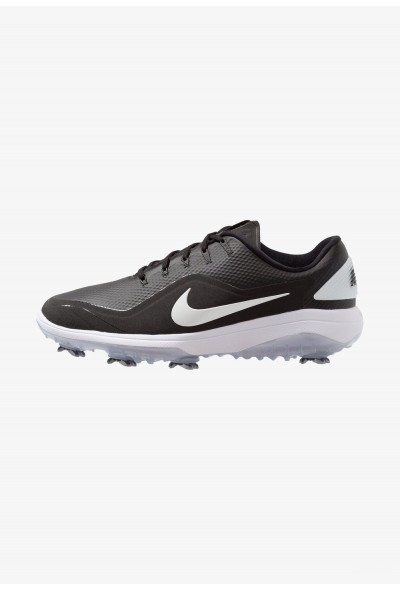 Nike REACT VAPOR  - Chaussures de golf black/metallic white liquidation