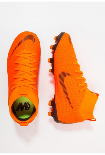 Nike MERCURIAL 6 ACADEMY MG - Chaussures de foot à crampons total orange/white/volt liquidation
