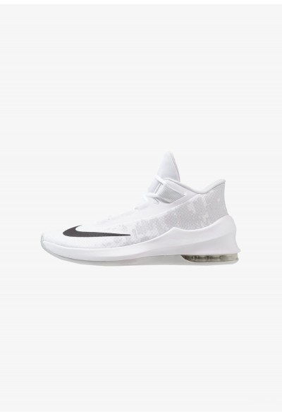 Nike AIR MAX INFURIATE 2 MID - Chaussures de basket white/black/pure platinum liquidation