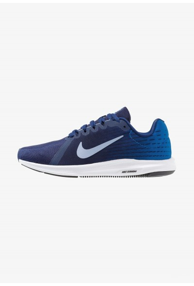 Nike DOWNSHIFTER 8 - Chaussures de running neutres blue void/indigo fog/photo blue/red orbit/black/white liquidation