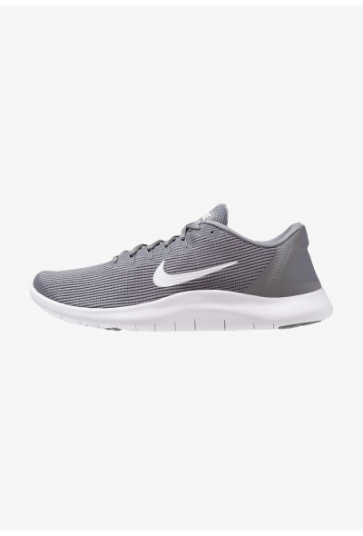 Nike FLEX 2018 RUN - Chaussures de course neutres cool grey/white liquidation