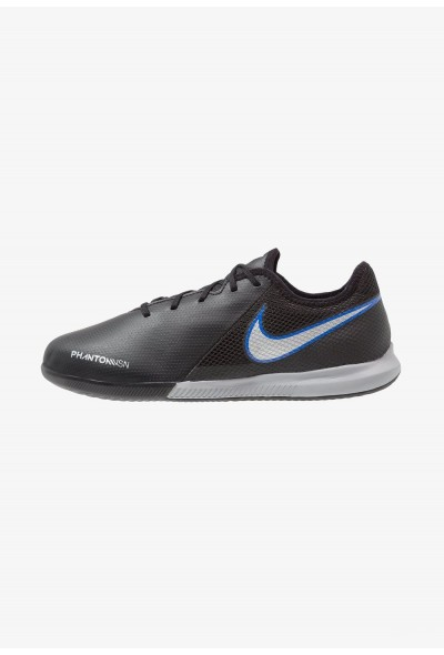 Nike PHANTOM OBRAX 3 GATO IC - Chaussures de foot en salle black/metallic silver/racer blue liquidation