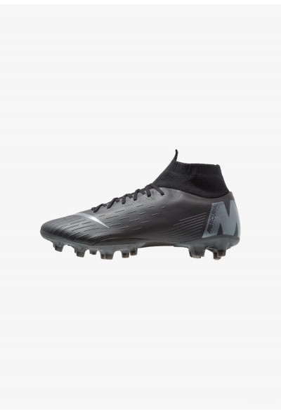 Nike MERCURIAL 6 PRO AG PRO - Chaussures de foot à crampons black/anthracite/light crimson liquidation