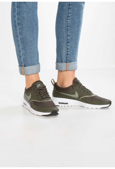 Nike AIR MAX THEA - Baskets basses cargo khaki/dark stucco/black liquidation