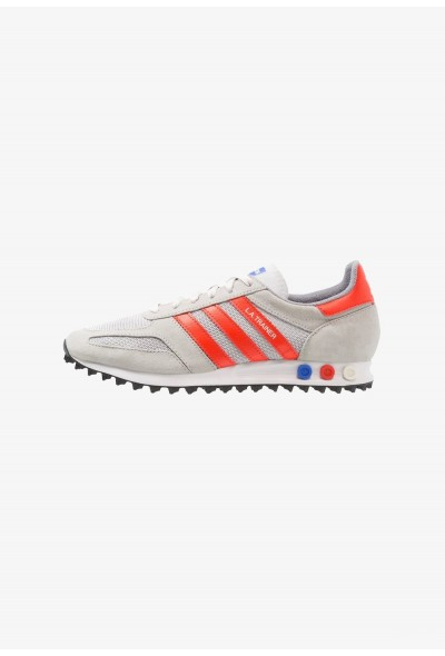 Adidas LA TRAINER - Baskets basses grey tow/bold orange/grey one pas cher