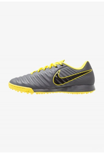 Nike LEGENDX 7 ACADEMY TF - Chaussures de foot multicrampons dark grey/black/optimal yellow liquidation